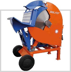 scie circulaire orange - matériel de jardinage professionnel - achat matériel forestier