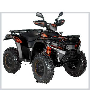 quad hytrack noir - achat vente matériel agricole - entreprise motoculture