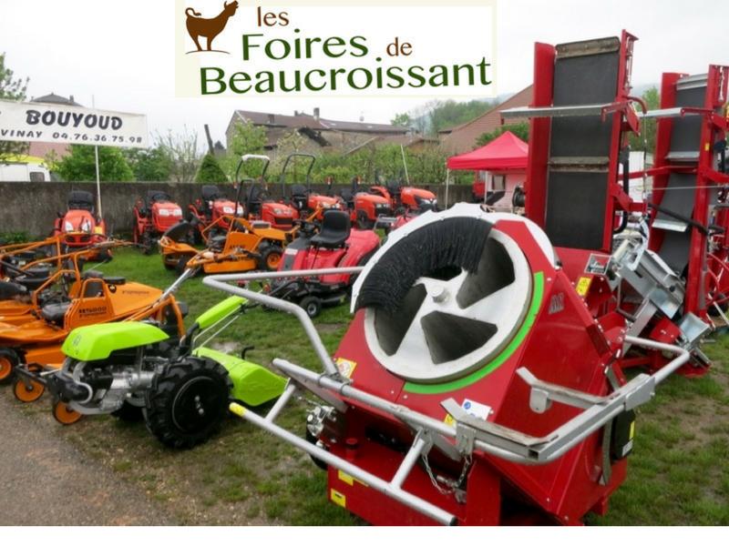 foire de beaucroissant - motoculture isère - Bouyoud - achat vente matériel agricole